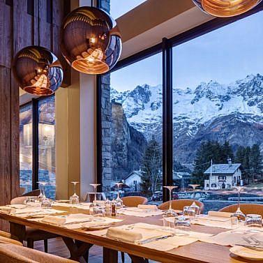 Hochalpiner Charme mit Panoramablick auf den Mont Blanc