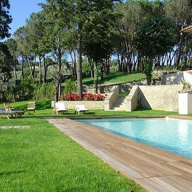 Herrliche Landschaftsidylle in der Toskana