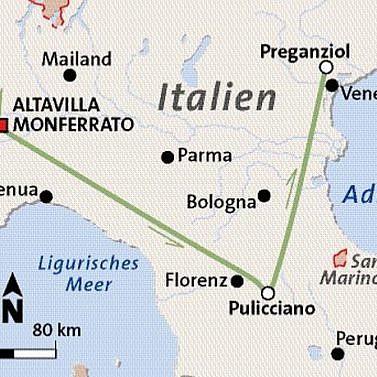 Italia romantica – Weinreise durch Norditalien