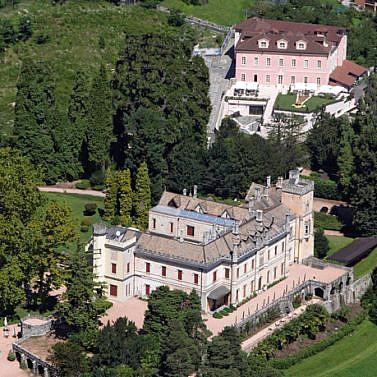 Schloss-Ambiente am Lago Maggiore