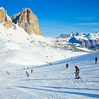Wellness & Wintersport in den Dolomiten