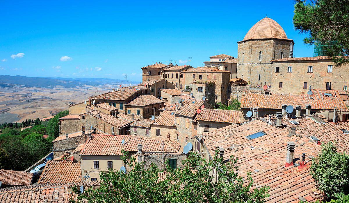 Altstadt von Volterra, Toskana   italien.de