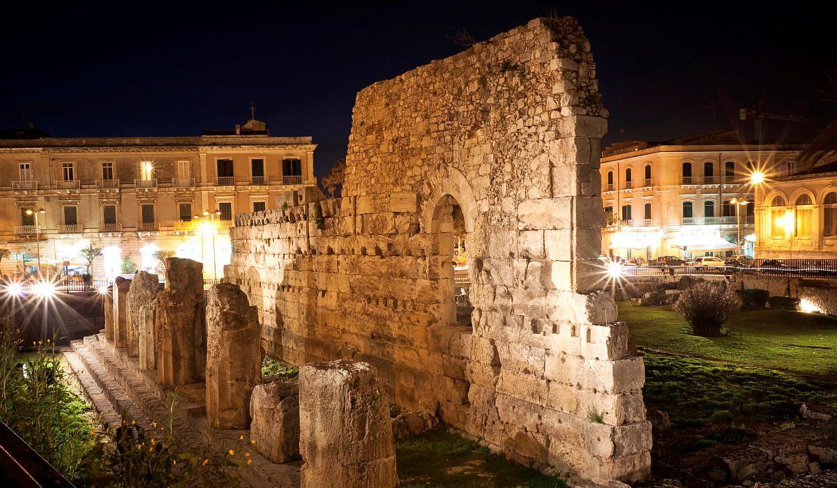 Apollontempel, Syrakus, Sizilien | italien.de