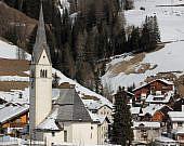 Kirche von Arabba, Südtirol | italien.de