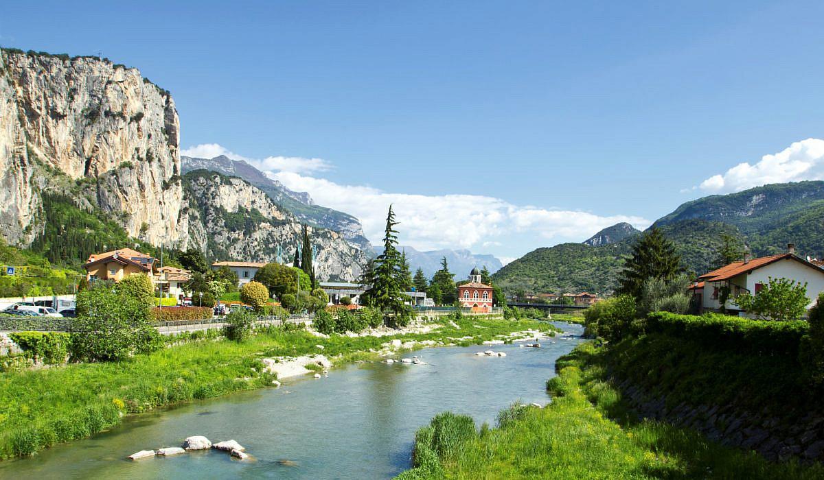 Arco Trentino Südtirol Italiende