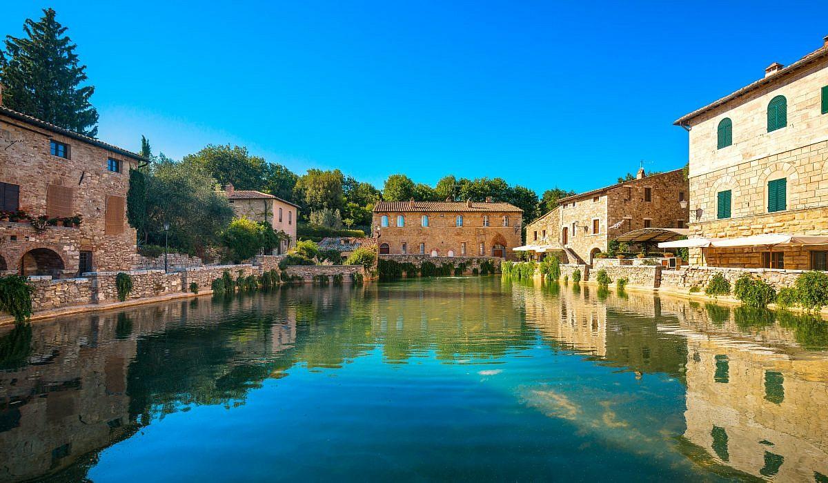 Thermalbad Bagno Vignoni, Toskana | italien.de