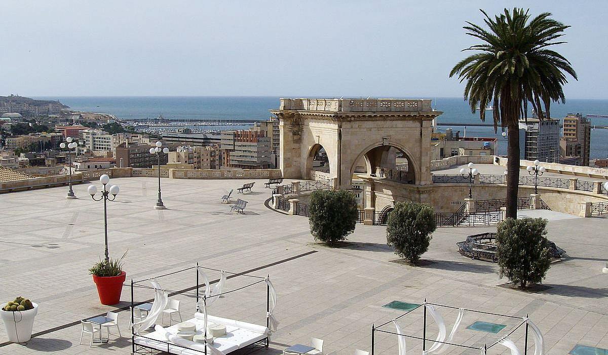 Bastione San Remy, Cagliari | italien.de