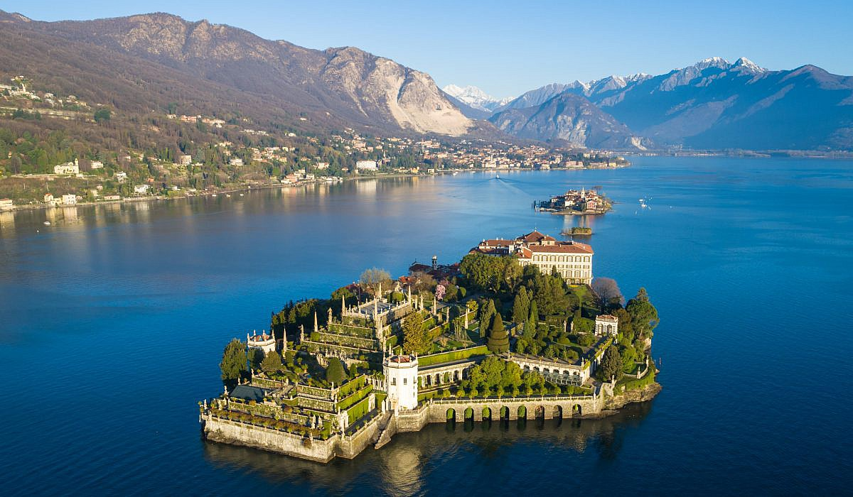 Lago Maggiore Karte.Borromaeische Inseln Piemont Italien De