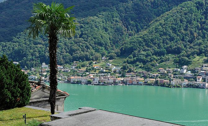 Hotel Luganer See Italien
