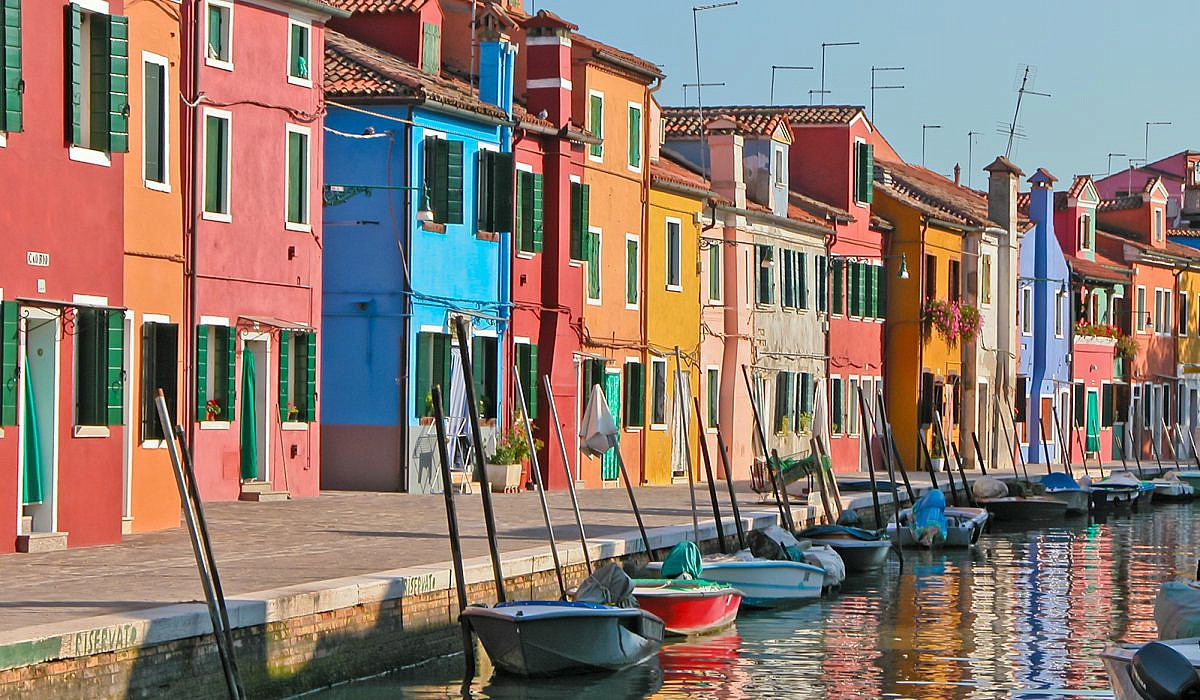 Insel Burano, Venetien | italien.de