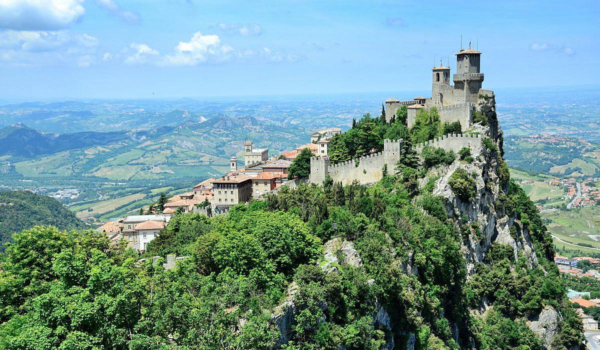 San Marino Italien