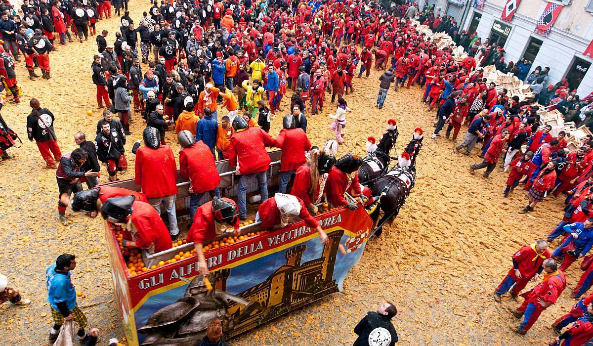 Carnevale di Ivrea, Piemont | italien.de