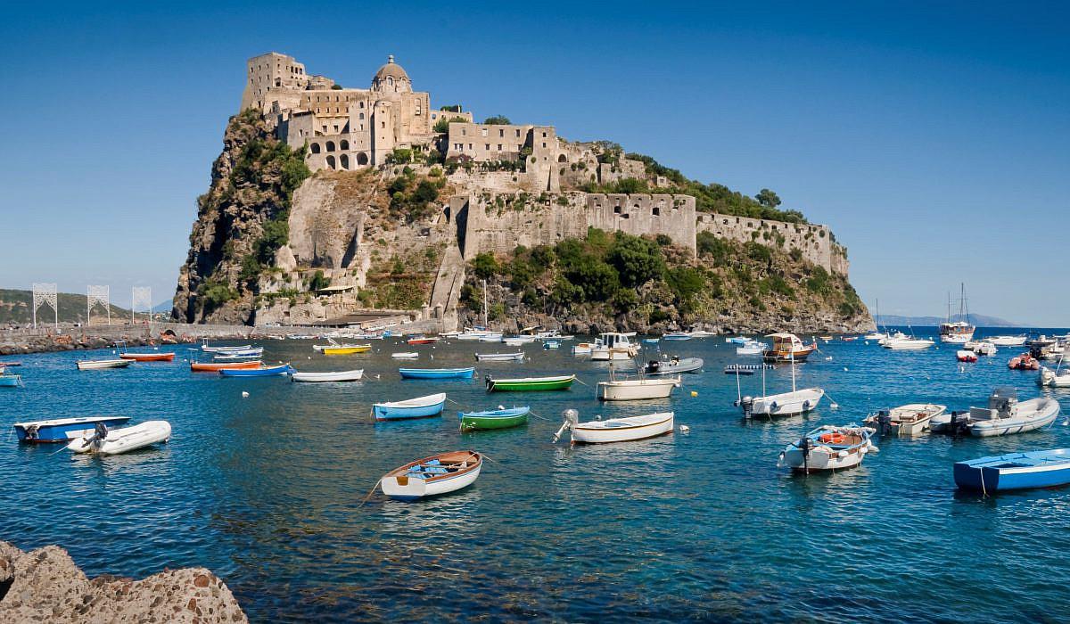 Castello Aragonese auf der Insel Ischia | italien.de