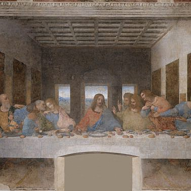 Il Cenacolo – das Abendmahl von Leonardo da Vinci