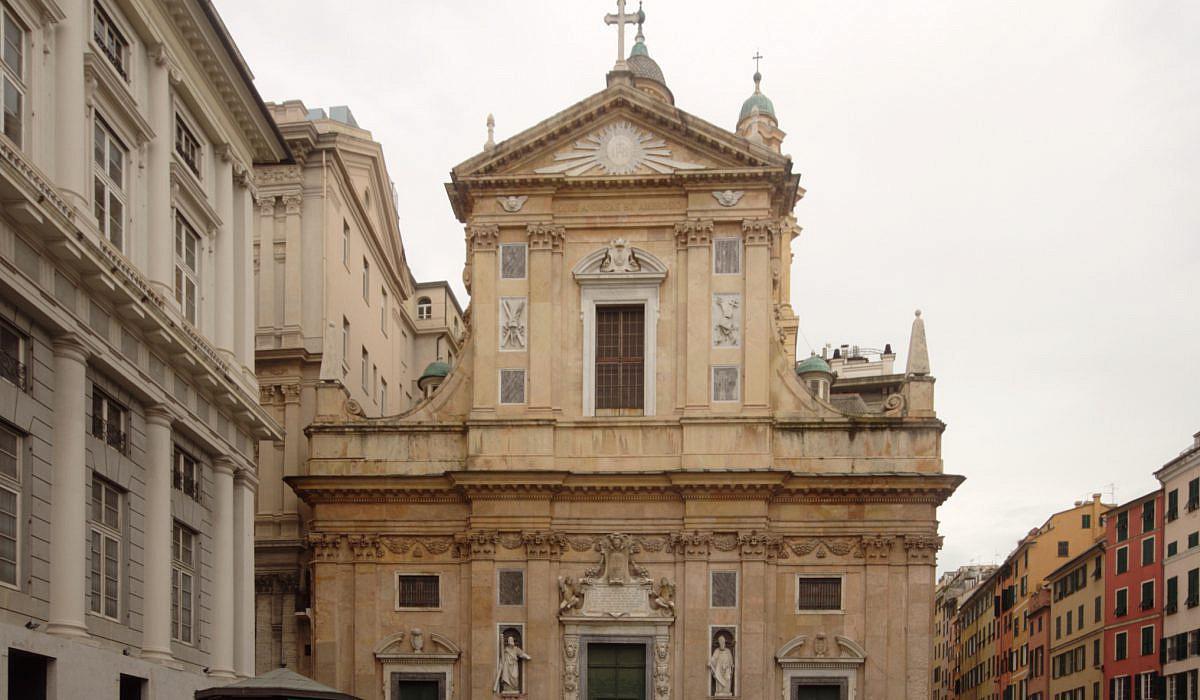 Chiesa del Gesu, Genua   italien.de
