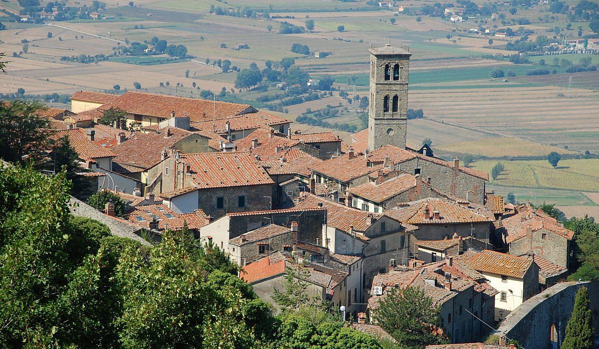 Altstadt von Cortona, Toskana | italien.de