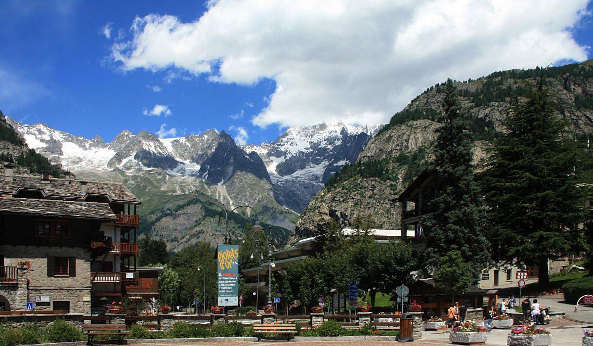 Courmayeur, Aostatatal | italien.de