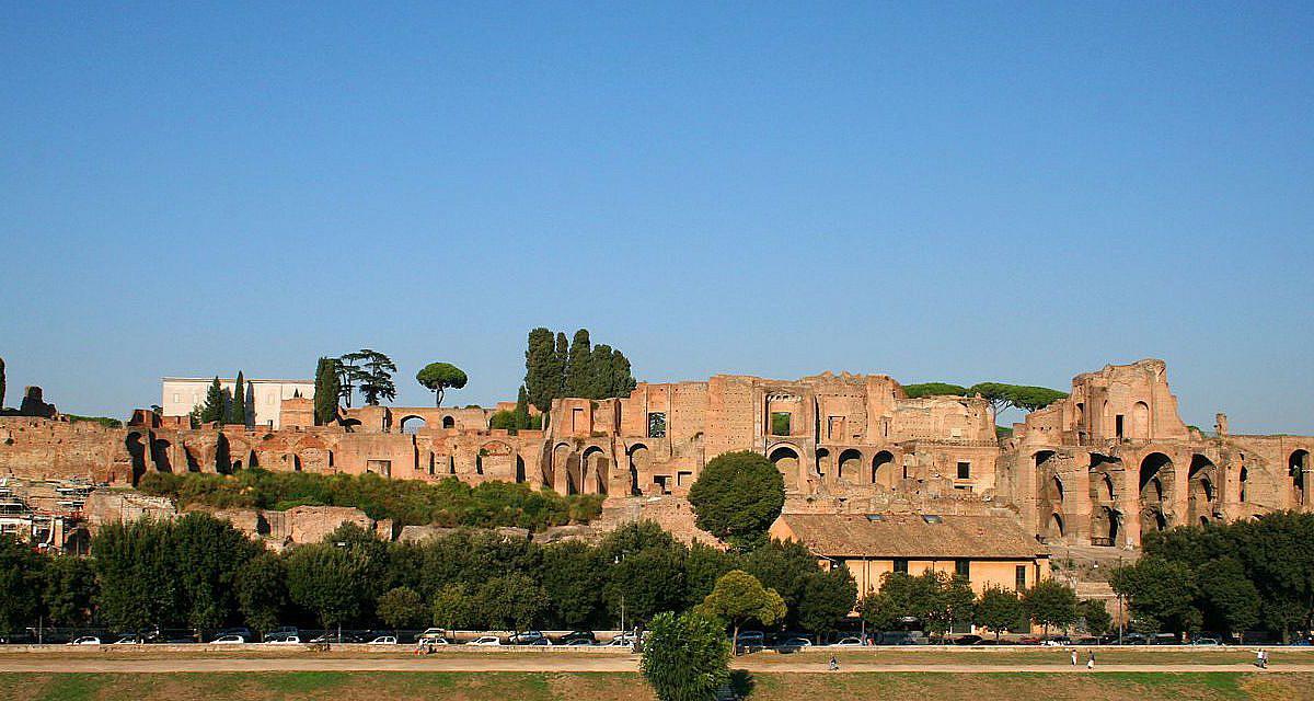 Ruinen des Domus Augustana auf dem Palatin, Rom | italien.de
