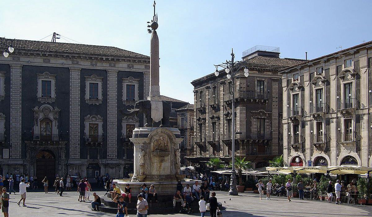 Elefantenbrunnen, Catania | italien.de