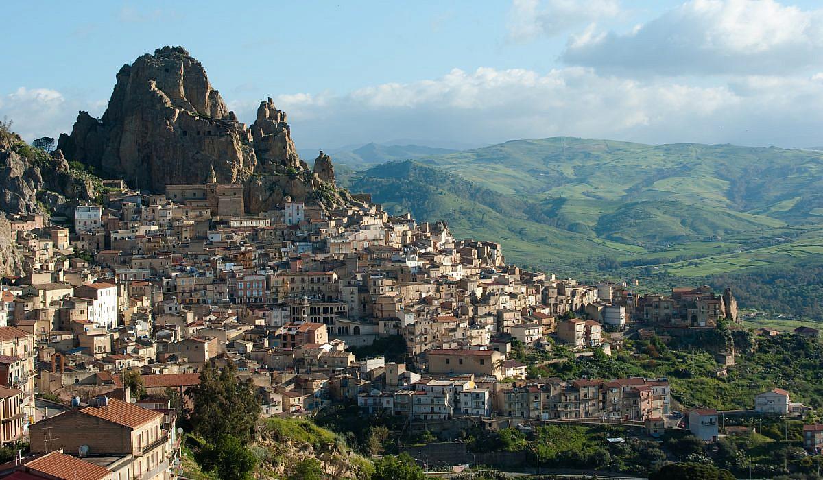 Panorama von Enna, Sizilien | italien.de