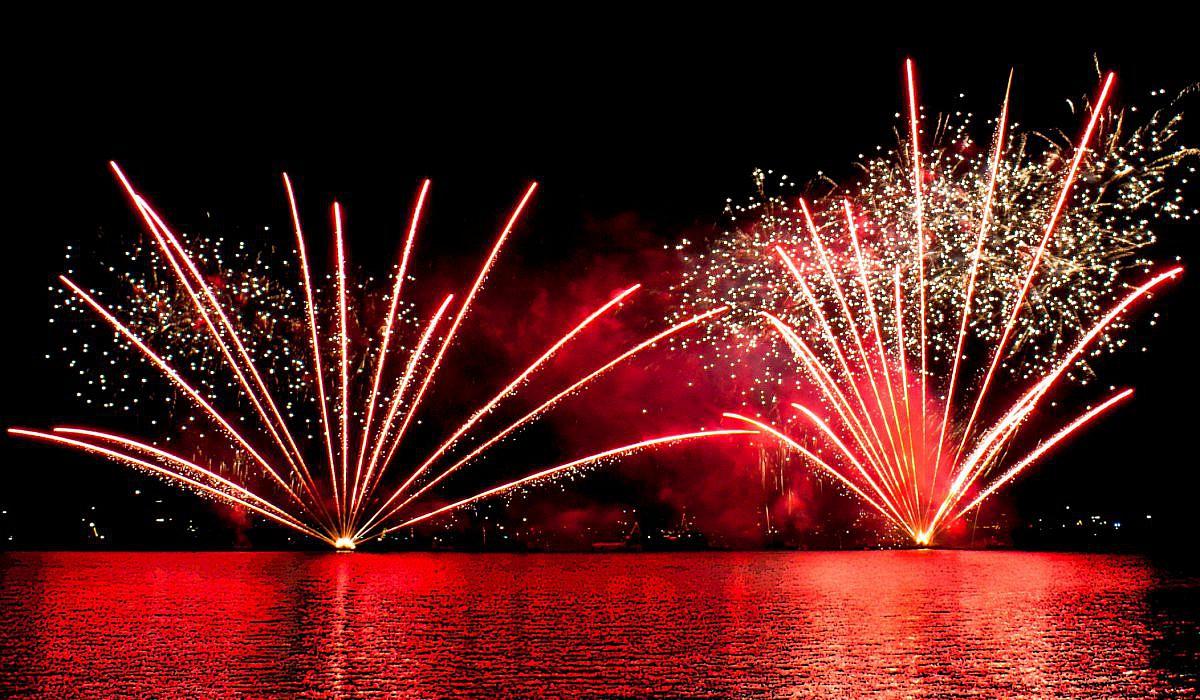 Ferragosto - Feuerwerk in Riva del Garda | italien.de