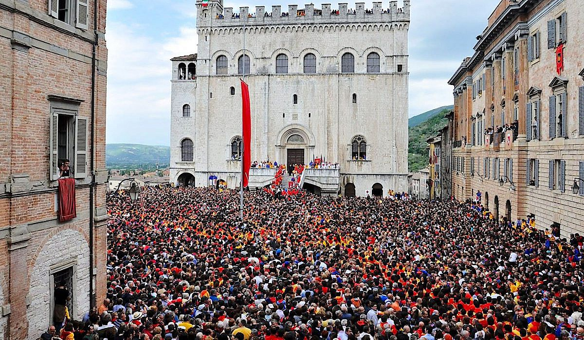 Festa dei Ceri in Gubbio, Umbrien | italien.de
