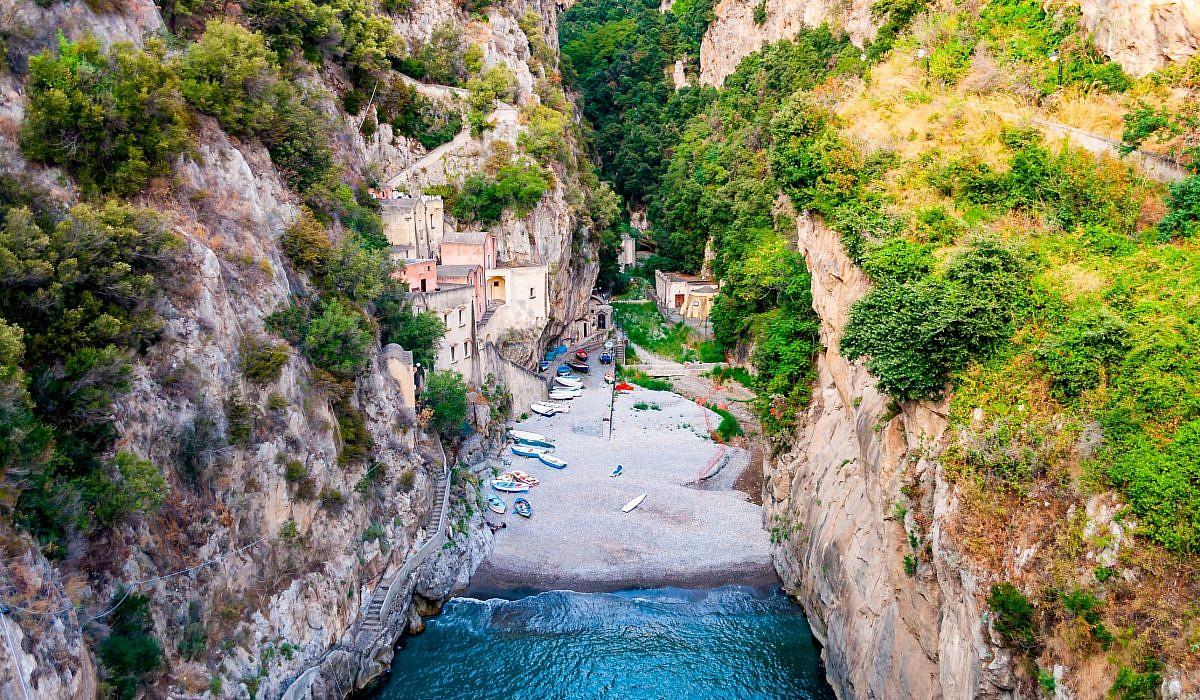 Fiordo di Furore, Amalfiküste | italien.de