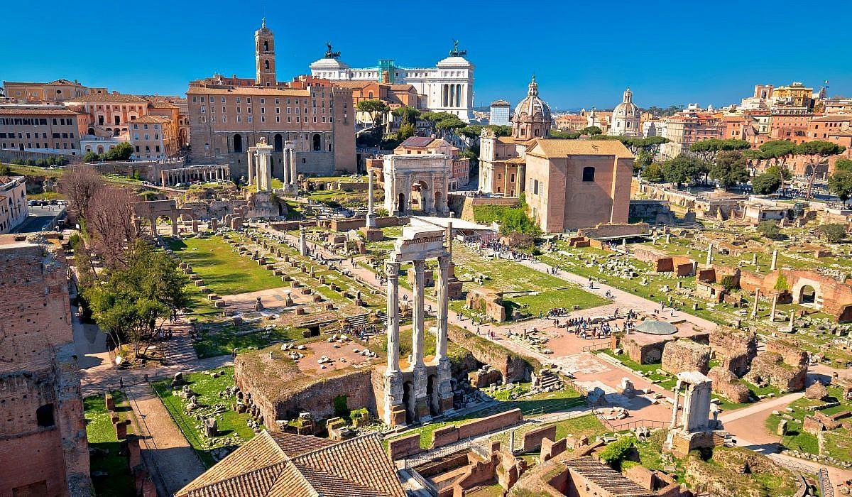 Forum Romanum, Rom | italien.de