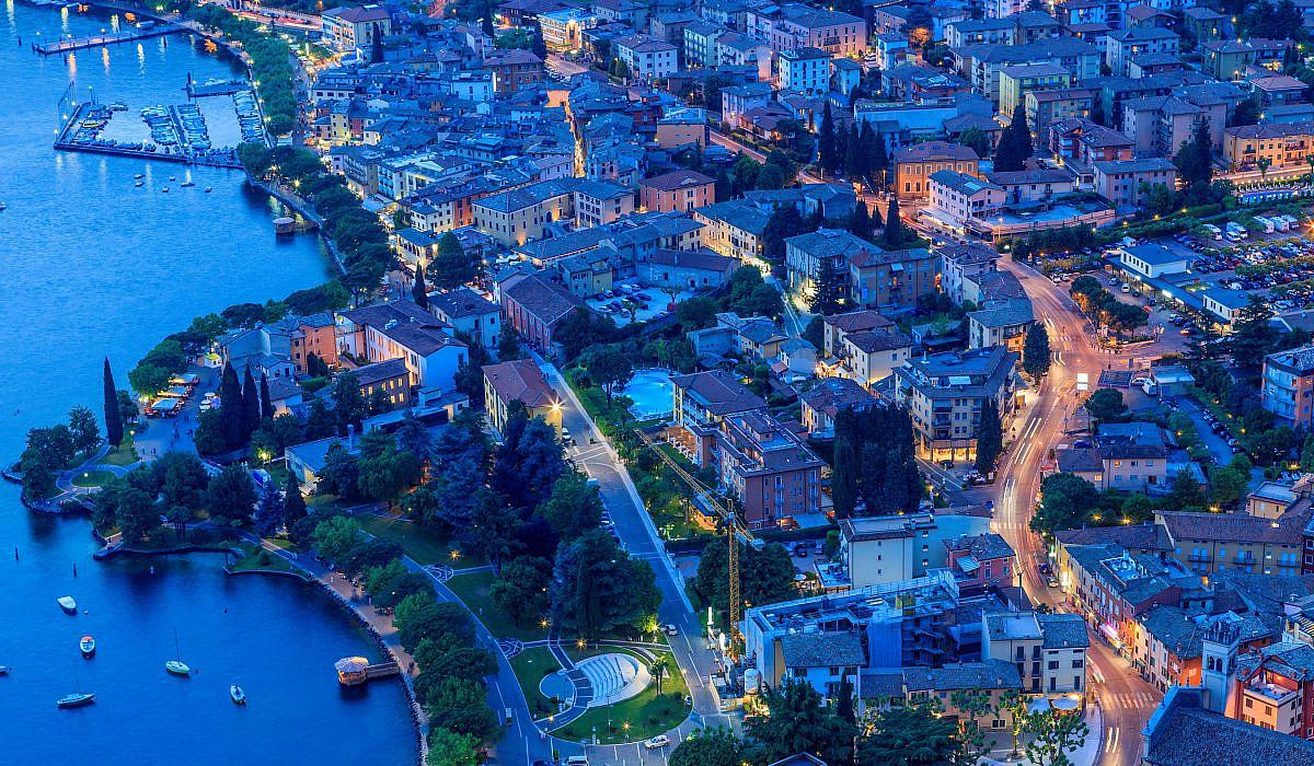 Garda bei Nacht, Gardaseee | italien.de