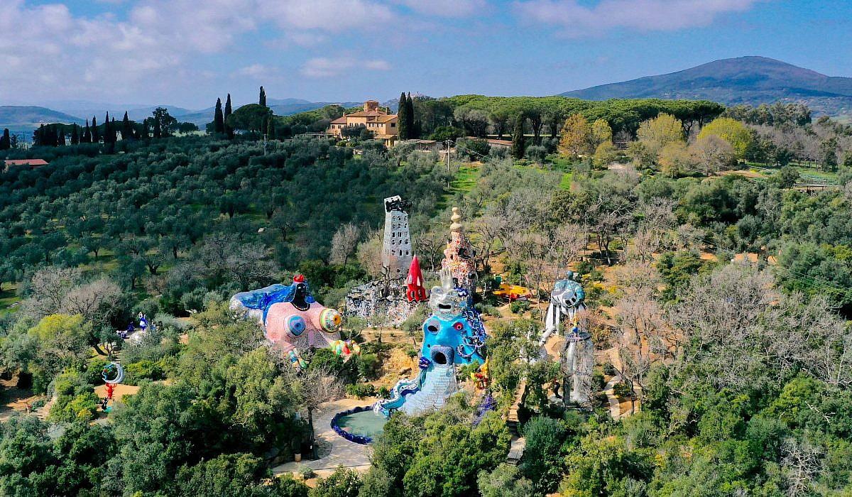 Giardino dei Tarocchi bei Capalbio, Toskana | italien.de