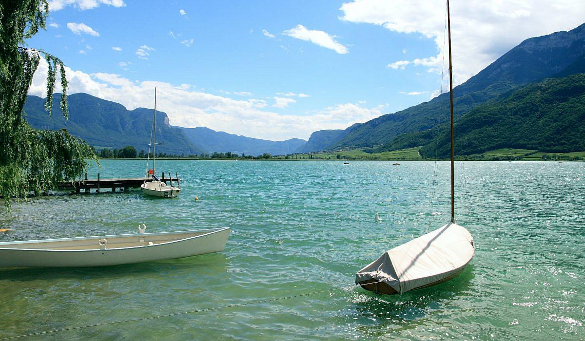 Kalterer See bei Kaltern, Südtirol | italien.de