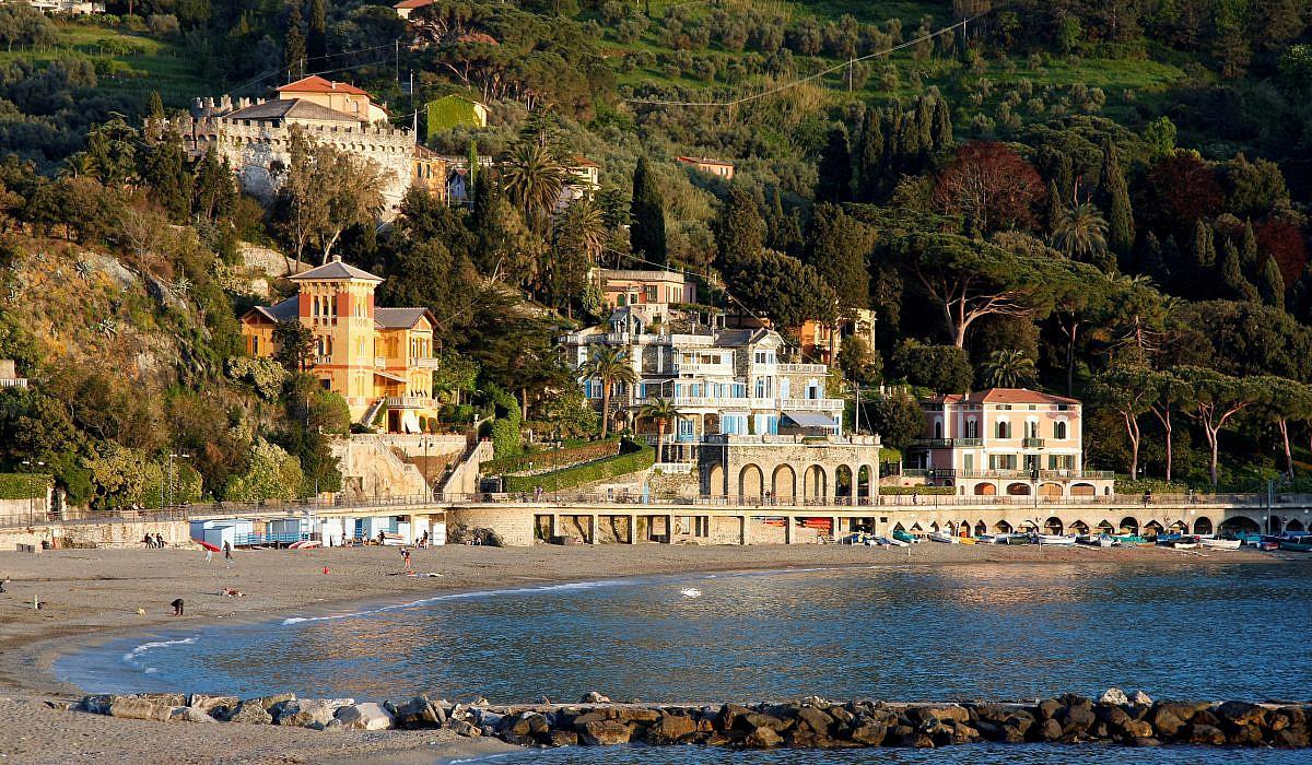 Levanto Ligurien Italien De
