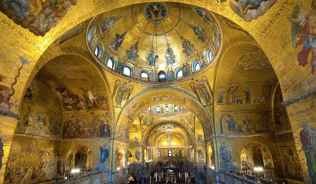 Mosaiken auf Goldgrund im Markusdom, Venedig | italien.de