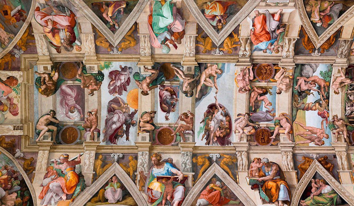 Michelangelo, Deckenfresko Sixtinische Kapelle, Rom | italien.de