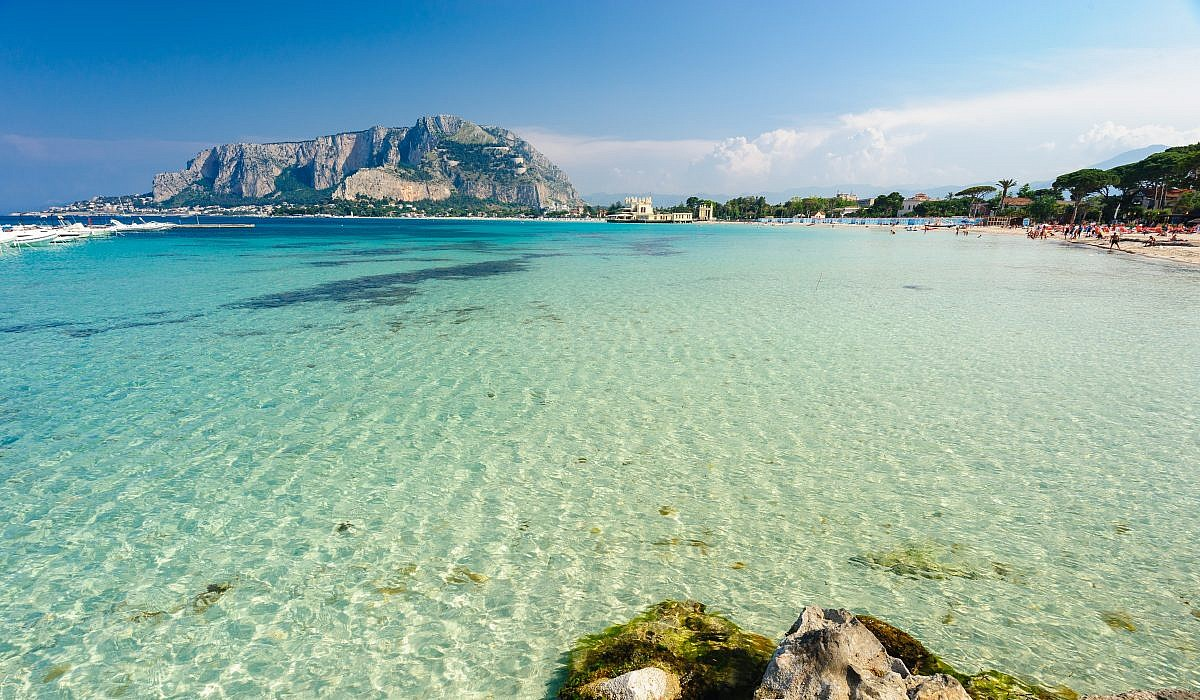 Mondello Beach, Mondello | italien.de