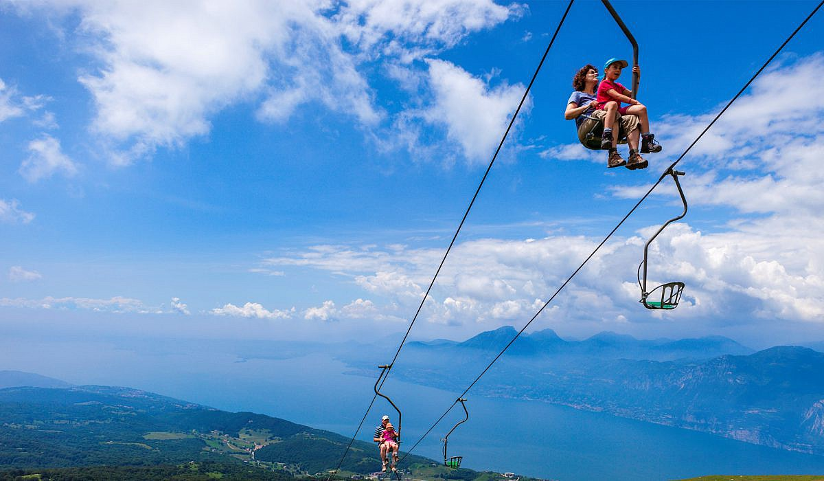 Sessellift zum Monte Baldo, Gardasee | italien.de