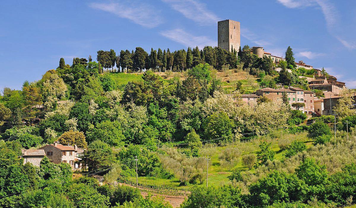 Panorama von Montecatini, Toskana | Italien.de