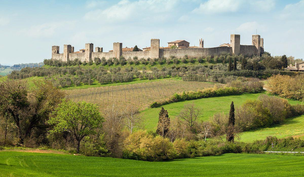 Monteriggioni toskana for Designhotel toskana