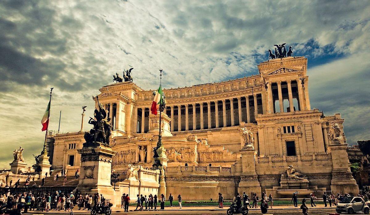 Monumento Vittorio Emanuele II, Rom | italien.de