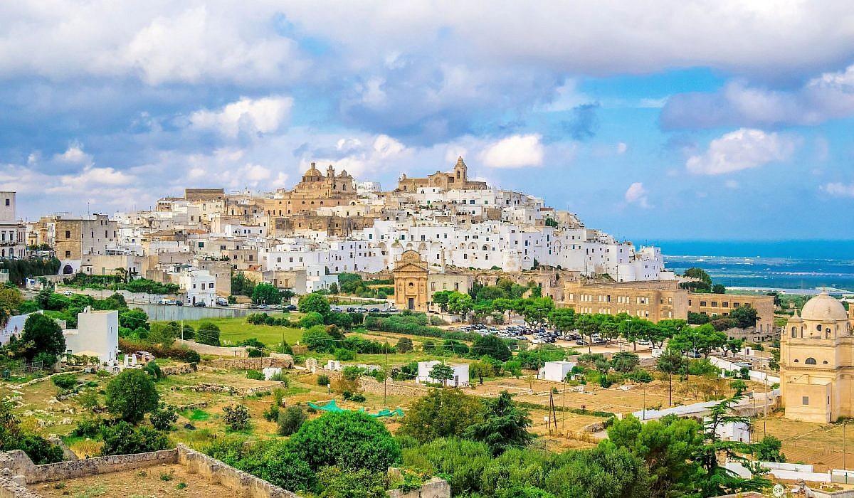 Ortsansicht von Ostuni, Apulien | italien.de