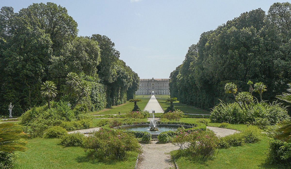 Palast von Caserta mit Gärten, Kampanien | italien.de