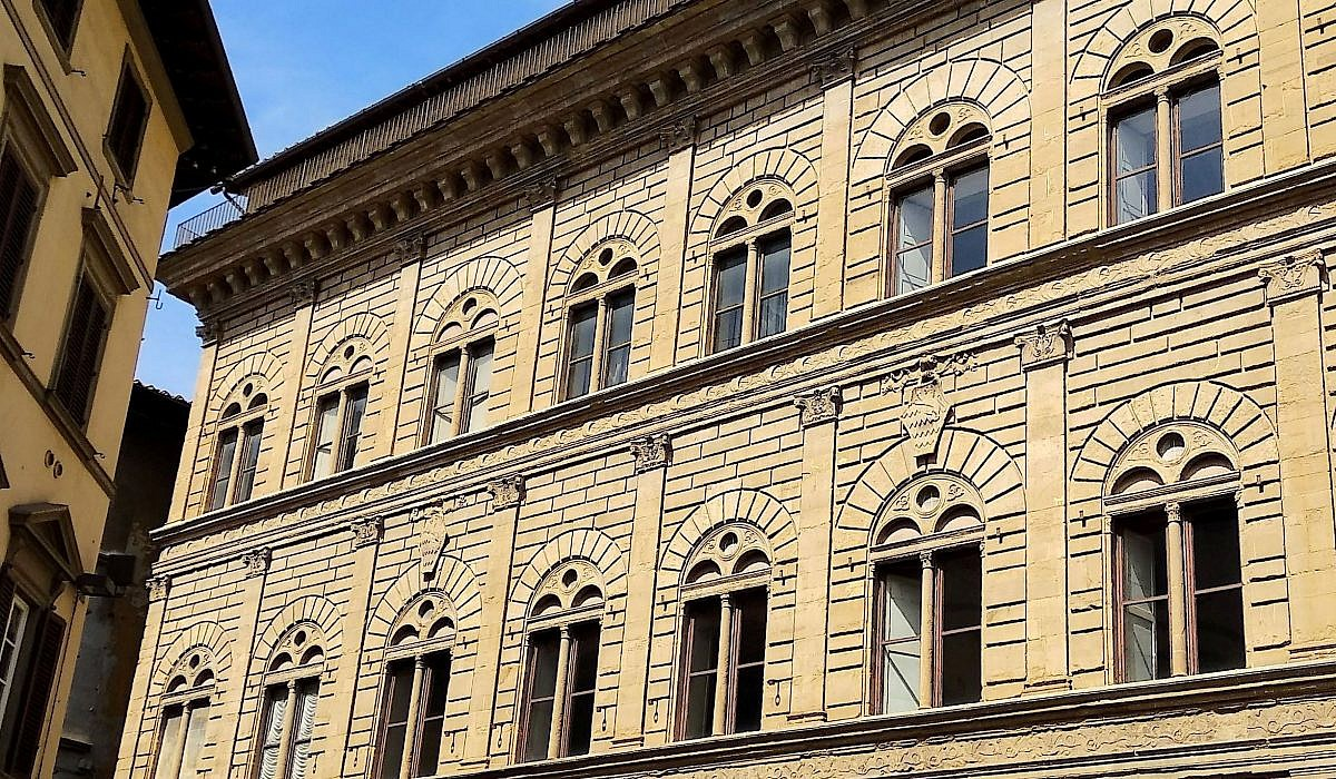 Palazzo Rucellai, Florenz   italien.de