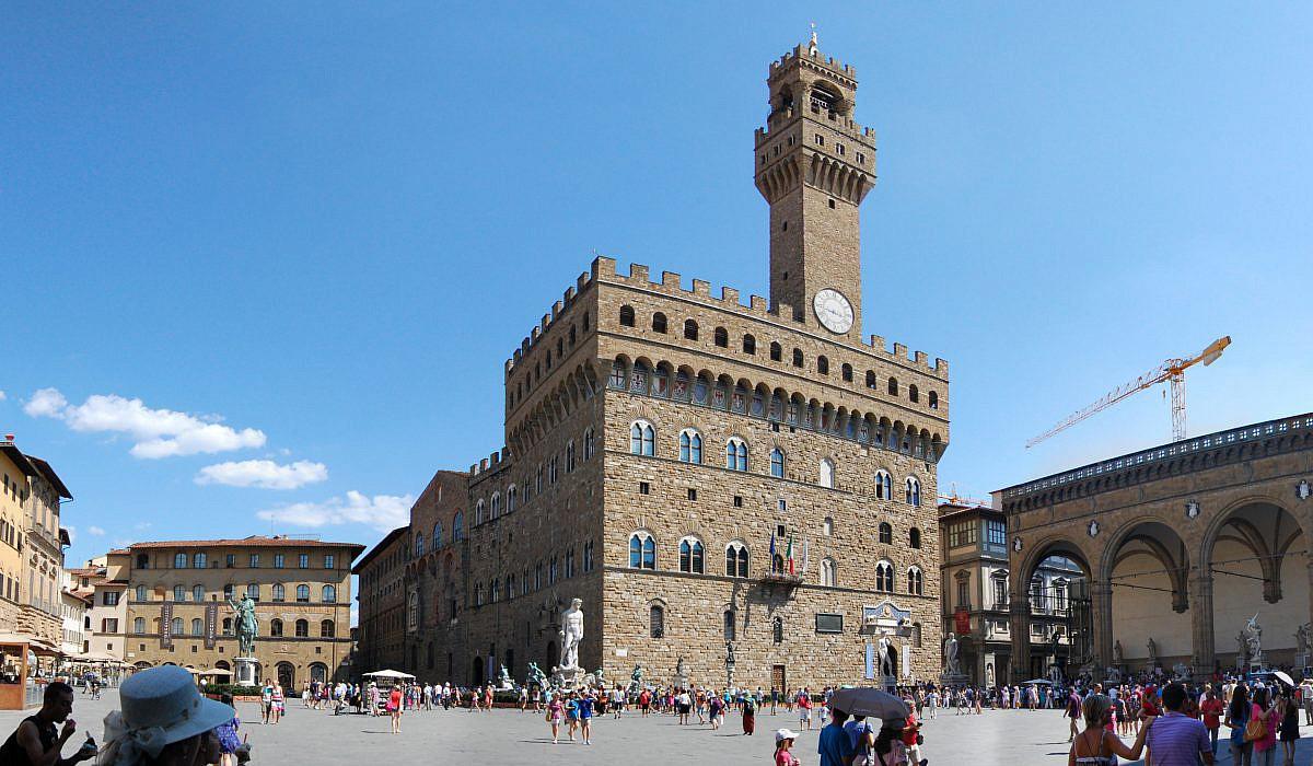 Palazzo Vecchio in Florenz, Toskana | italien.de