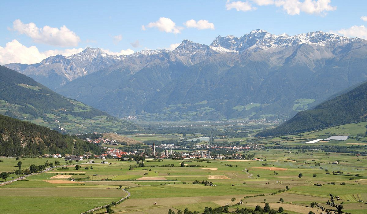 Panorama Vinschgau, Südtirol | italien.de