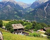 Panorama von Partschins, Südtirol | italien.de