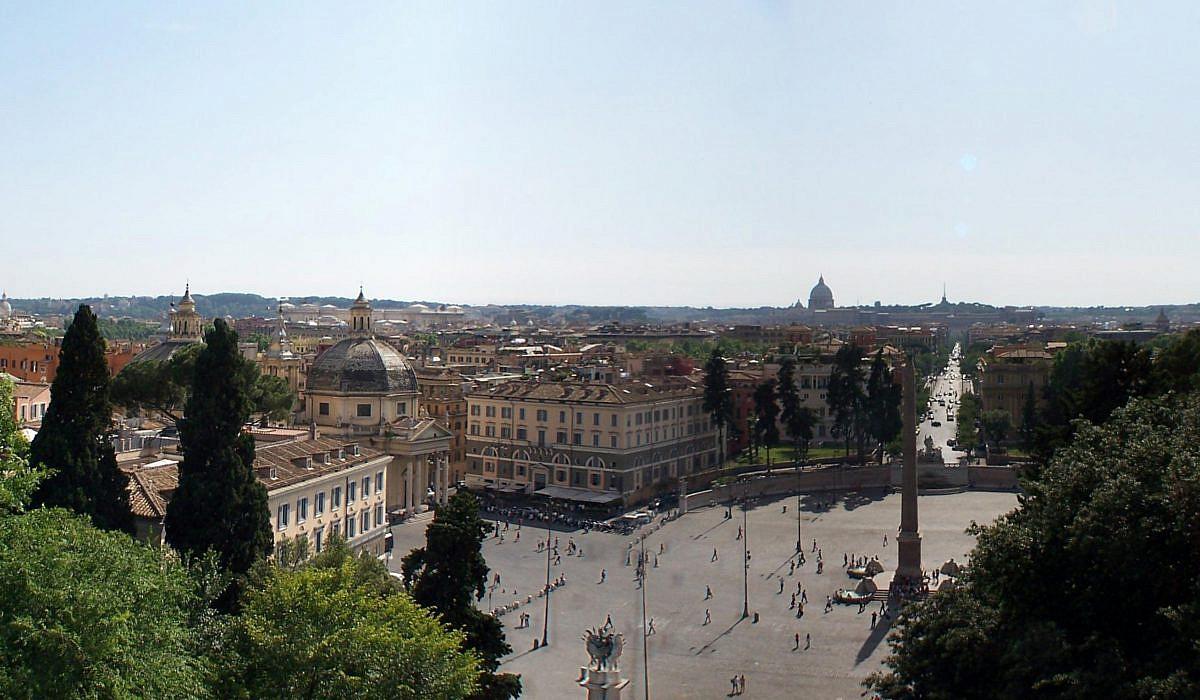 Piazza del Popolo in Rom | italien.de