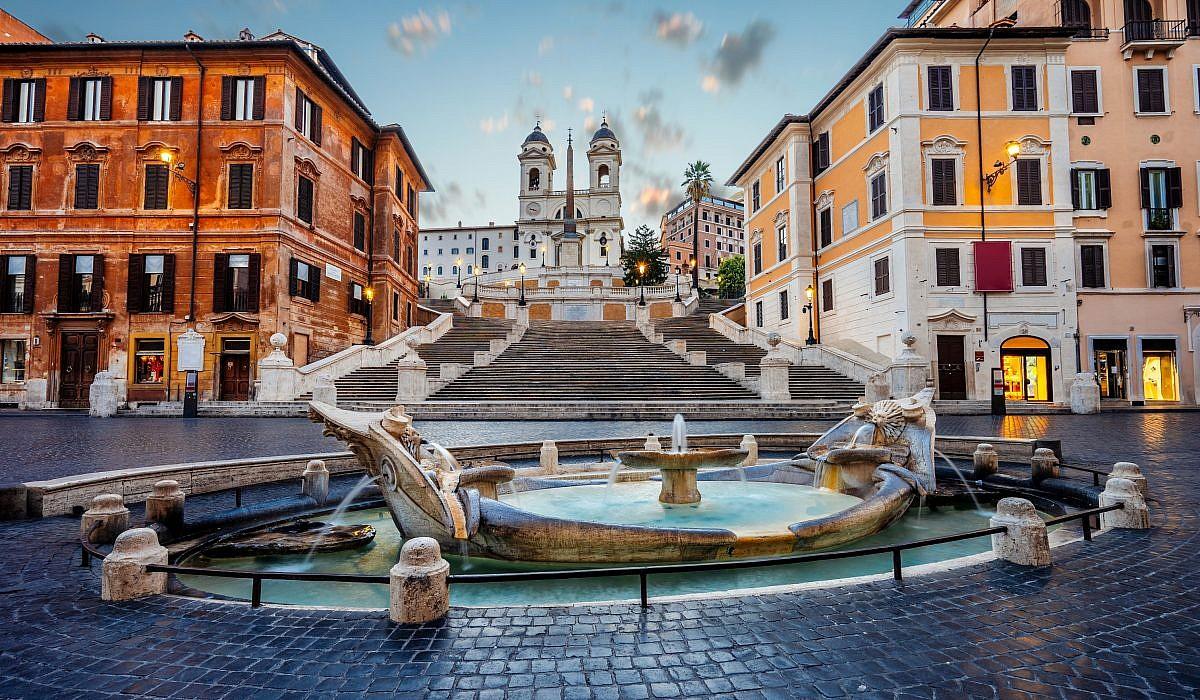 Piazza di Spagna, Rom | italien.de