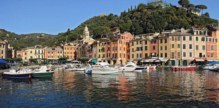 Hafen von Portofino, Ligurien   italien.de
