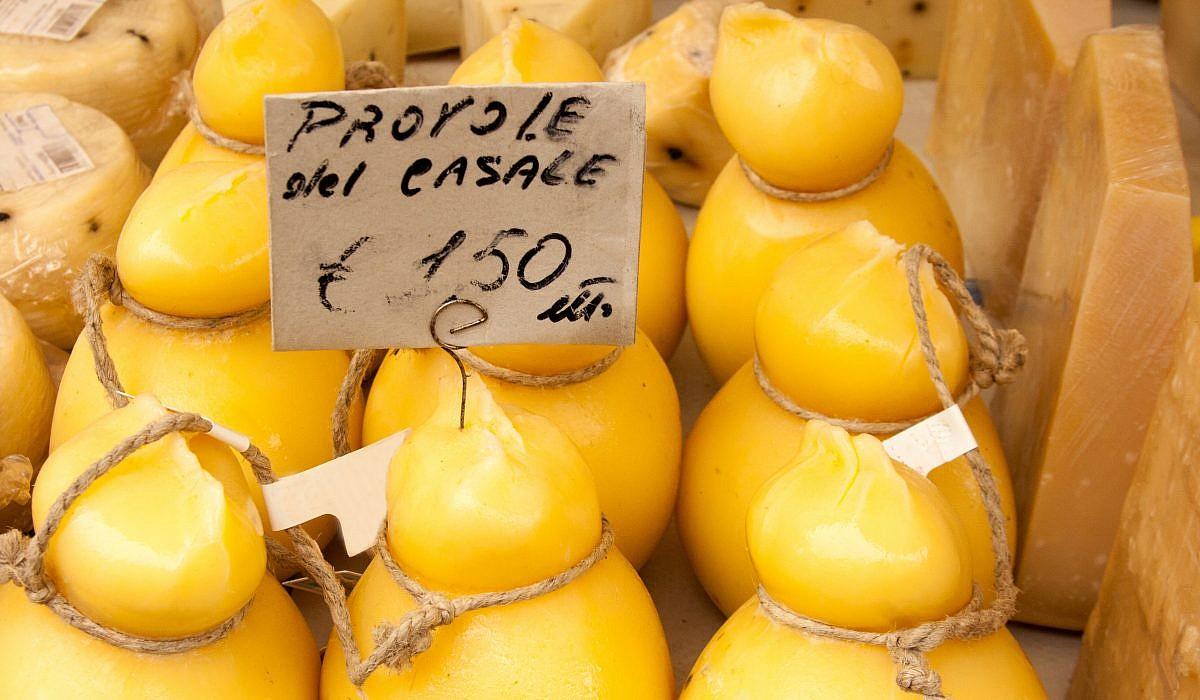 Provolone, Käse | italien.de