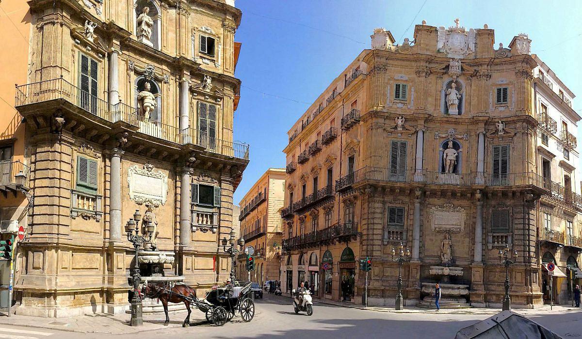 Quattro Canti di Palermo, Sizilien | italien.de